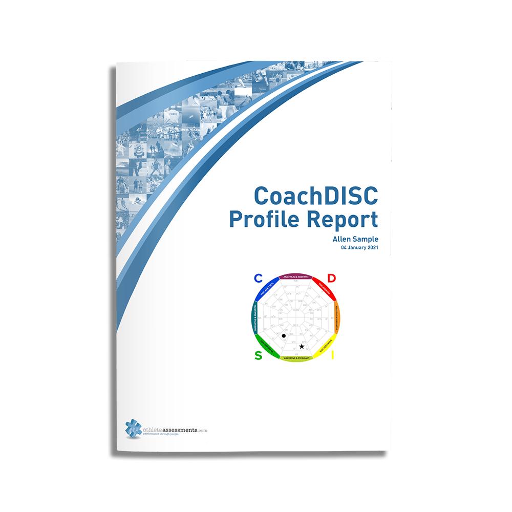 CoachDISC Sample Cover