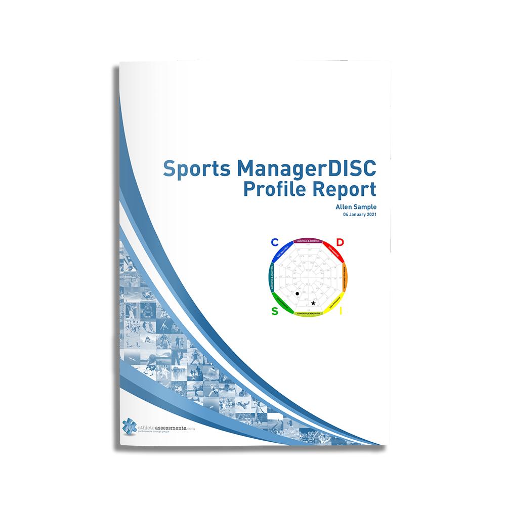 Sport-ManagerDISC Sample Cover